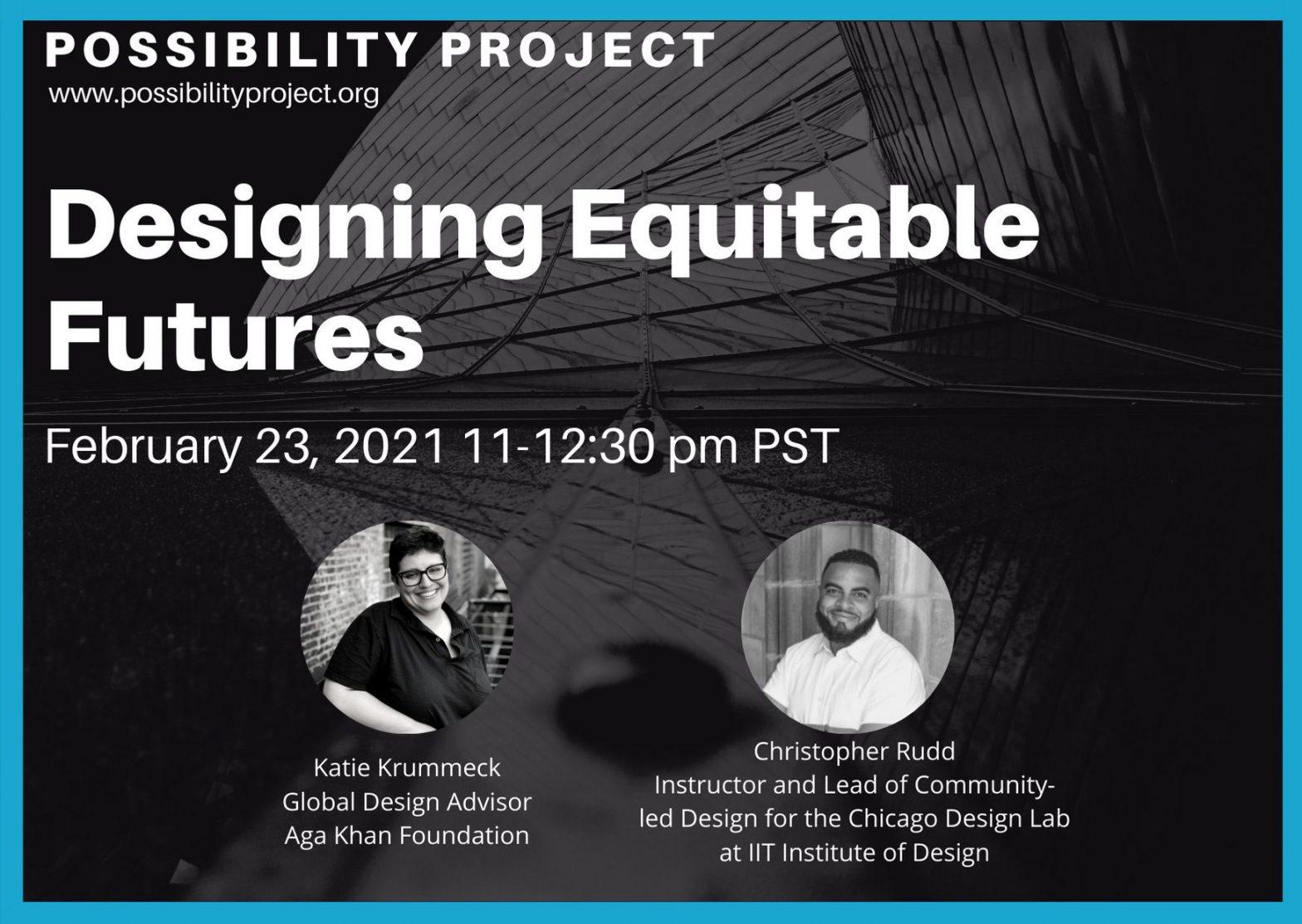 Designing Equitable Futures