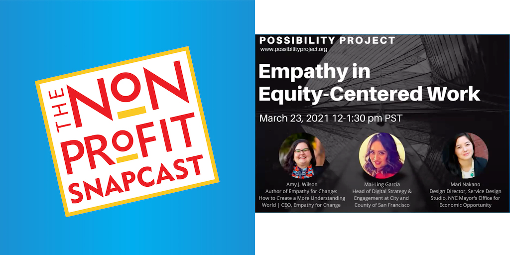 Empathy in Equity Centered Work